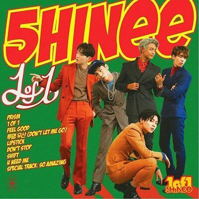 SHINEE [1 OF 1] 5th Album CD+72p Photo Book+24p Booklet+Photo Paper+GIFTSEALED