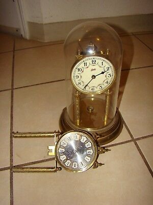 lchatz and haller vintage germany clocks for parts, not working conditions