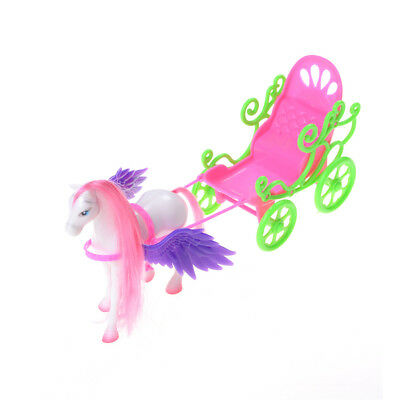 1Set Doll Carriage Accesories For Barbie Dolls Baby Decorations Play House Toys@