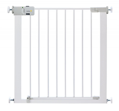 Metal Safety Gate For Baby Toddler Close Door Pressure Fit Stairs No Drilling