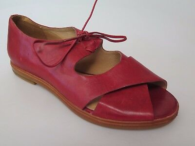 Silent D - new ladies leather sandal size 37 #64