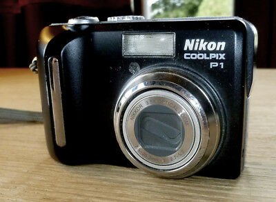 Nikon Coolpix P1 8MP Digital Camera
