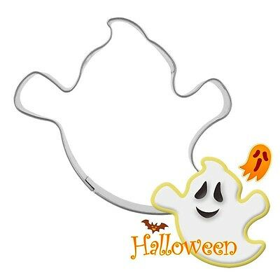 Halloween Ghost Stainless Steel Biscuit Cookie Cutter Cake Decor Mold Mould Tool