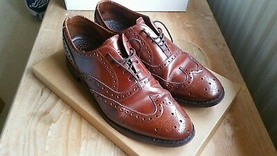 Men's Loake brown shoes size 9