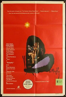 Butterfly (1982) Australian One Sheet STACY KEACH
