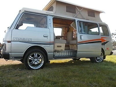 Nissan Urvan Campervan Mobile Home Retro Cruiser