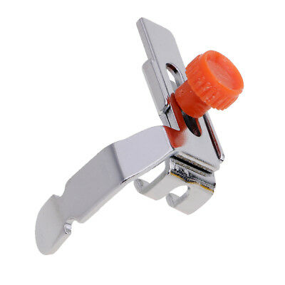 Domestic Low Shank Sewing Machine Adjustable Zipper Foot Snap On for Brother