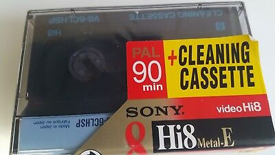 Sony Camcorder Hi8 Cleaning Cassette