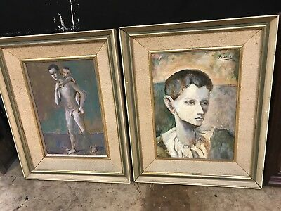 Picasso oil Painting, Original, Provenance. Signd paintings, antiques,1906,