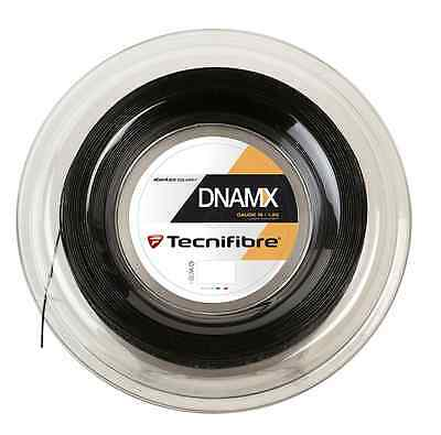 Tecnifibre DNAMX 1.25mm - Black - Squash String - Reel - 200m - Free UK P&P