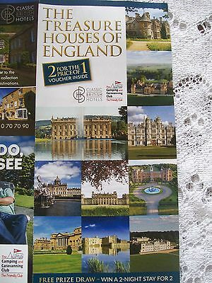 2 For 1 Entry Voucher Ticket Treasure Houses England Leeds Castle Woburn Abbey