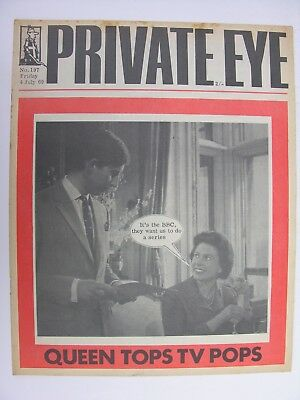 PRIVATE EYE 1969 4 July No 197 Queen Prince Charles BBC TV Pops Ralph Steadman