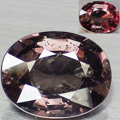 2.58 Ct. RARE Unheated Natural Oval Color Change Malaya Garnet  Loose Gemstone