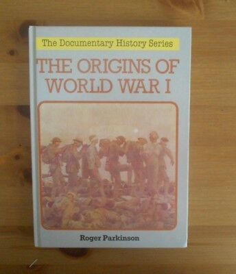 Origins Of Ww1 Illustrated Book