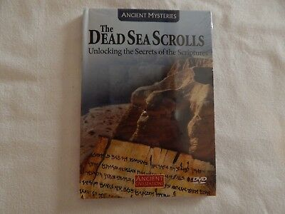 Ancient Mysteries The DEAD SEA SCROLLS Scriptures #3 DVD BRAND NEW! STILL SEALED