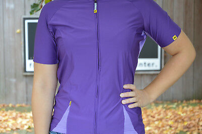Mavic Cloud Jersey Ladies Short Sleeve Jersey with armlingen Purple %%%