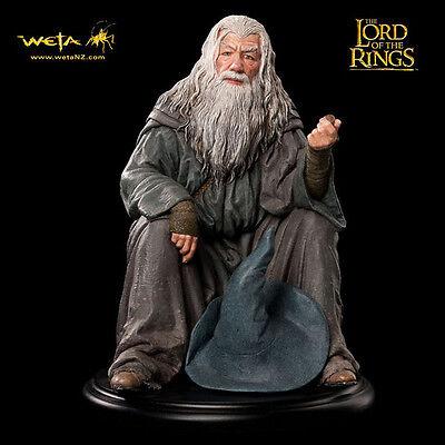 WETA Gandalf The Grey Mini Statue Figure Lord Of The Rings The Hobbit NEW