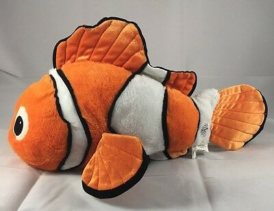 Finding Nemo Core Plush Clownfish Doll Toy Authentic Disney Store Exclusive 17""