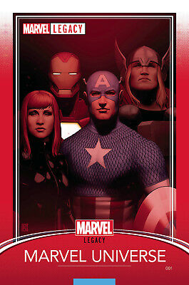 Marvel Legacy #1 Christopher Trading Card Variant Cover It All Starts Here