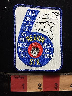 Good Sam Region 6 Alabama & A Bunch More States Camper Patch C76L