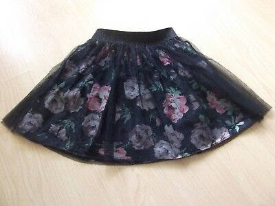 Girls Flower Skirt. Aged 5-6 Years. In Good Condition.