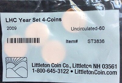 2009 Lincoln cent  bicentennial 4 coin set