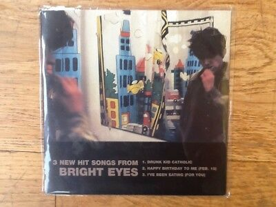 "Bright Eyes 7"" Vinyl single EP 3 New Hit Songs"