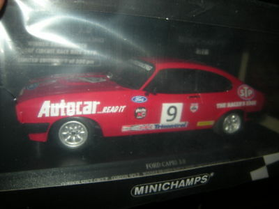 1:18 Minichamps Ford Capri 3.0 Gordon Spice Group 1978 Nr 155788609 in OVP