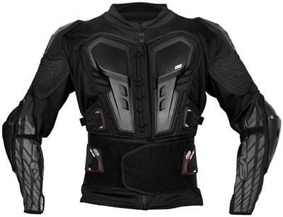New EVS G6 Ballistic Torso/Elbow Protection Jersey Adult Armor, Black, Small/SM