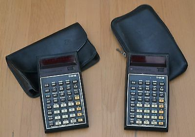 2 Calcolatrice LED Texas Instruments TI-51-III, calculator, vintage