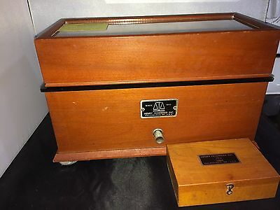 Vintage Henry Tromner Apothecary Scale With Tromner Box Of Weights Included