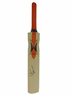 Kevin Pietersen Signed Woodworm Ashes 2005 Winners Bat+Photo Proof*see Him Sign*
