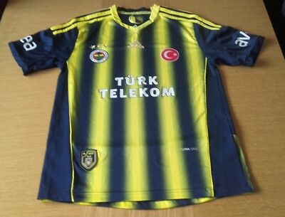 Excellent FENERBAHCE Adidas Football Shirt  2012/13 Adults