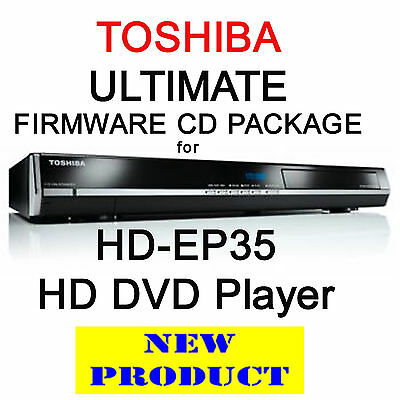 Region Free & V4.0 Firmware Update Cd Pack For Toshiba Hd-Ep35 Hd Dvd Player