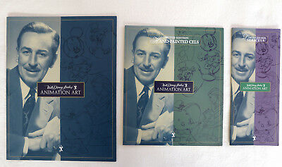 Disney Studios Animation Art Booklet & Brochures Limited Edition Animated Cels
