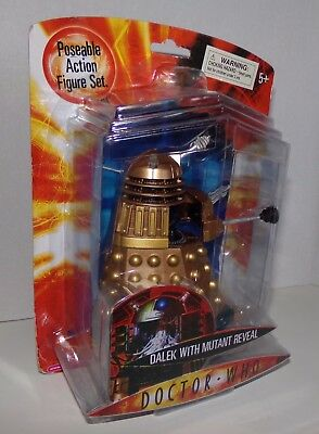 Doctor Who Dalek With Mutant Reveal 2006 BBC Character Options Ltd. MOC NEW RARE