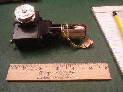Precision DC motor with gear reduction from Semiconductor equipment #1