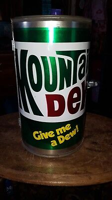 Vintage MOUNTAIN DEW  Big Can-Do  BBQ Grill Never Used