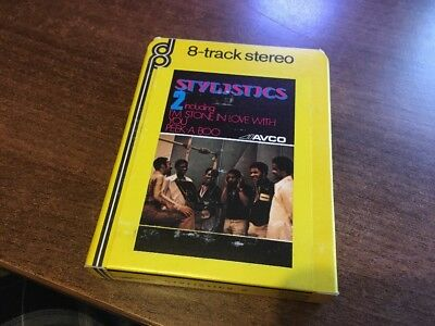 The Stylistics 2. Great Rare 8 Track Tape In Good Condition. Look!!