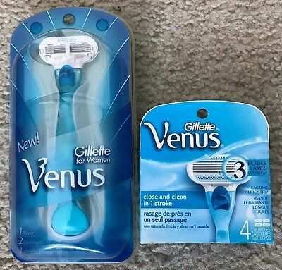Gillette Venus Razor w/ 6 cartridges