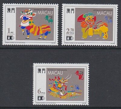 MACAU 1992 World Columbian stamp Expo '92 MINT set sg776-778 MNH