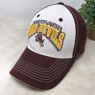 check out b30ff dd9a8 Arizona State Sun Devils Maroon White Hat Top Of The World OS