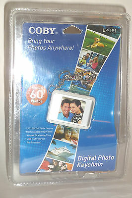 """Coby DP-151 1.5"""" Digital Picture Keychain New In Package, LOOK!!"""