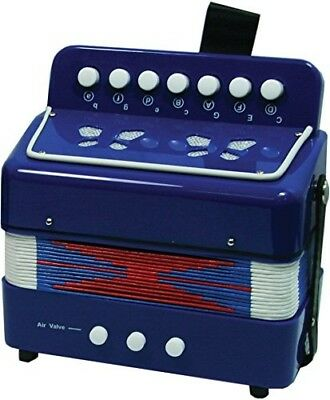 NEW CLASSIC TOYS BLUE ACCORDION Musical toys. Free Shipping
