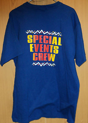 WINNIPEG BEACH Canada NEW VINTAGE 90s Special Events Crew 2 Sided T Shirt XL