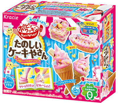 KRACIE POPIN COOKIN CAKE SHOP KIT DIY Japanese candy Happy Kitchen FREE AIRMAIL