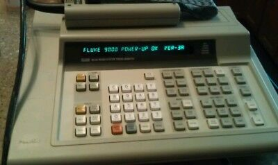 Fluke 9010A micro system trouble shooter computer w/8080 pod,probe, and manuals