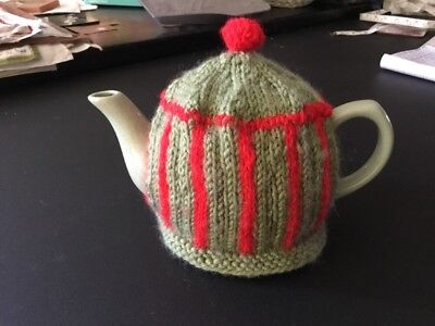 Small Hand Knitted Tea Pot Cosy