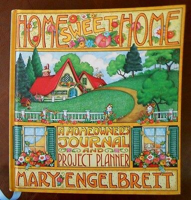 Cute MARY ENGELBREIT Home SWEET Home Homeowner's JOURNAL & Project PLANNER AA