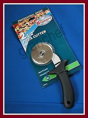"""Pizza Cutter With Guard ~ 2 1/2"""" Blade ~ Made For The Food Service Trade ~ NIP"""